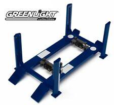 GREEN12884 - Pont élévateur de garage 4 pieds de couleur bleu non monté  -  -