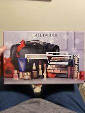 Estee Lauder Holiday Blockbuster Makeup Kit Gift Set Smoky Noir $385 value Nib