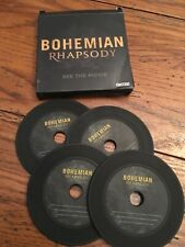 Queen Bohemian Rhapsody Movie Promo Coaster Set In Box