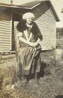 West Virginia Woman Wearing Fur Stole 1910s Fashion Antique Photo