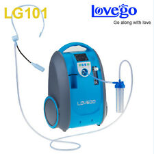 Lovego101 mini battery 1L-5L LCD 90% portable oxygen GENERATOR concentrator