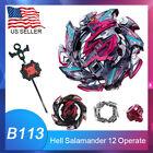 Beyblade Burst Hell Salamander/Turbo Valtryek w/Launcher B-113- USA SELLER!
