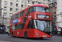 LT789 LTZ 1789 METROLINE NEW ROUTEMASTER 30TH DEC 2017 6x4 London Bus Photo B