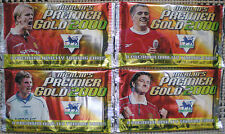 MERLIN PREMIER LEAGUE GOLD 2000 CARDS 4 x unopened packets TRADING CARDS