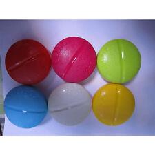 Mini Tragbare Pillbox Pillendose Tabletten Dose Kunststoff Rund Oval Formen Cute