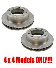 "Front Disc Brake Rotors Ford F250 F350 F450 F550 4X4 13 1/64"" EA Rotor 99-04"