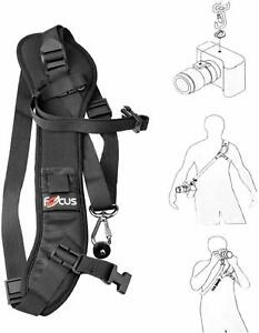 Quick Camera Shoulder Neck Strap Sling Strap Belt for Canon Nikon Sony All DSLR