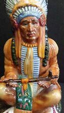 Royal Doulton HN2892 Rare 1978 China Figurine The Chief Vintage Native American