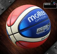 PU Leather Basketball Sport Training Games ball Molten GP76 #7 with Pin Bag Kit
