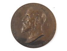 """Belgian bronze medal """"Henri Paul Laneau Conseil Provincil"""" 1923 by Paul Dubois"""