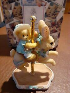 Cherished Teddies Jenelle 505579 Carousel Series, new in box