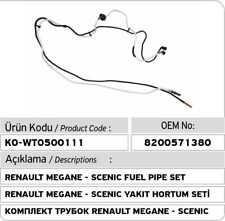 Renault Megane - Scenic K9K Fuel Pipe Set 8200571380