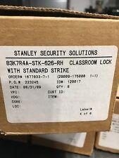 STANLEY SECURITY SOLUTIONS 83K7R4A-STK-626-RH CLASSROOM LOCK W/STANDARD STRIKE