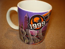 Vintage 1999 CLEVELAND BROWNS   SUPER BOWL Coffee Mug Cup  MINT BRAND NEW