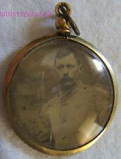 CADRE PHOTO MINIATURE de 2 POILUS - 1914-1918