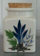 American EMERSON Creek Pottery'96 Storage Jar dipinti a mano made in VIRGINIA USA