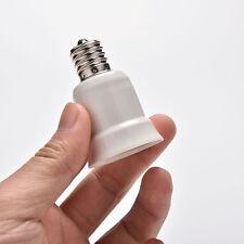 E17 to E27 Socket Base LED Halogen CFL Light Bulb Adapter Converter Holder New ^