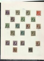 luxembourg stamps page ref 16868
