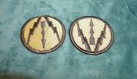 VINTAGE MILITARY  PATCHES SET OF 2