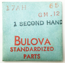 Bulova New 17AH GM.12 Vintage Second Watch Hand #65 NOS Sealed Original Package