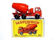 Matchbox Lesney No.26b Foden Cement Mixer In Type 'E3' Box (BPW, VN MINT MODEL)