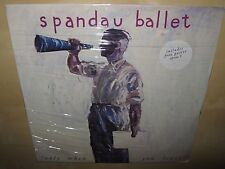 """SPANDAU BALLET Only When You Leave 12"""" SINGLE EP SEALED 1984 Spanx 3 + POSTER"""
