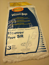Enviro Care Technologies Vacuum Bags Hoover Type SR 3 Bags New
