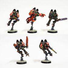 Warhammer 40K Space Marine Raptor escuadrón caos ejército bien pintados