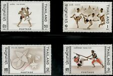 "THAILAND #460-463 ""5TH ASIAN GAMES"" COMPLETE SET OF 4, XF OG NH BP4568"