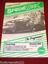 SPEDEWEEK - NATIONAL HOT ROD 8000 SERIES - JULY 28 1988 # 28