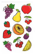 Mrs Grossmans Fruit Reflections Sticker Sheet BN & NLA