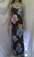 CHARLOTTE HALTON Maxi Dress.  Gorgeous Floral Pattern. Evening Casual.   SIZE 10