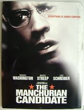 The Manchurian Candidate 2004 Press Kit = BOOK & CD + USED folder