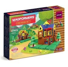 MAGFORMERS 705004 Log House Themed Magnetic Construction Toy