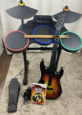 Drum Kit And Guitar Hero For The Nintendo Wii