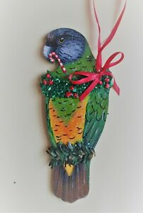 SENEGAL PARROT CHRISTMAS TREE ORNAMENT
