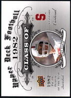 2011 Upper Deck Football Class Of Inserts - Pick A Player