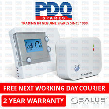 SALUS RT500RF 5/2 OR 7 DAY WIRELESS PROGRAMMABLE ROOM THERMOSTAT RT500RF - NEW