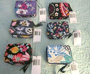 Vera Bradley Travel Pill Case,ENC GARDEN,PAISLEY,FLOWERS,TWIST,SANTIAGO, U PICK