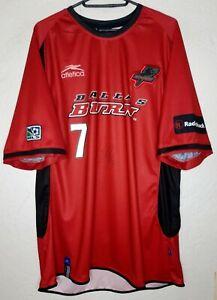 MLS Dallas Burn Atletica 2003 Eddie Johnson Home Signed Soccer Jersey