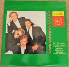 Level 42 - To Be With You Again 1987 12 inch vinyl single