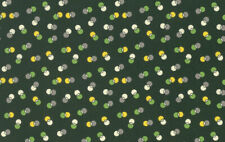 Winter Walk Dot Duet Free Spirit Cotton Quilt Fabric PWDS132 Evergreen DK Green