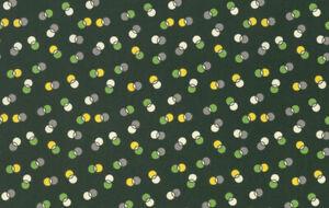 Winter Walk Dot Duet Free Spirit Cotton Quilt Fabric PWDS132 Evergreen DK Green