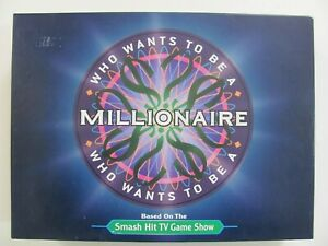 Mattel Channel 9 Who Wants To Be A Millionaire Board Game 2000