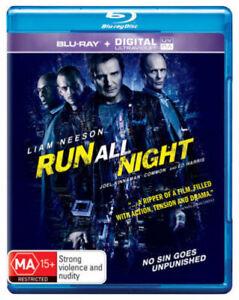 RUN ALL NIGHT Blu-Ray LIAM NEESON ED HARRIS ***