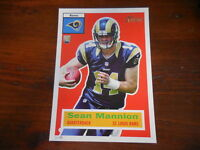 2015 Topps Heritage Football 5X7 RC Rookie #/99 Sean Mannion Rams