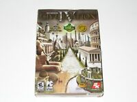 Civilization IV PC Game New Sealed In Box 2005 Sid Meier's