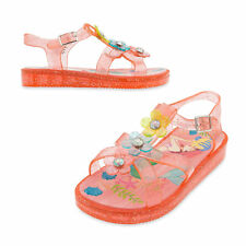 Disney Store Ariel Jelly Sandals for Kids Size 11