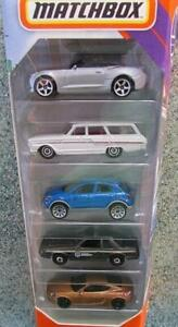 Matchbox 2020 5 pack #1 HIGHWAY includes Porsche Ford Chevy Fiat gift set
