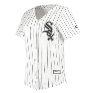 Chicago White Sox Majestic MLB Women's Home Baseball Jersey - White - New